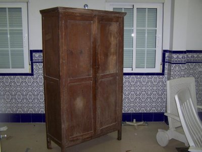 Armario antiguo para restaurar madrid 16197 - Como restaurar un mueble antiguo ...