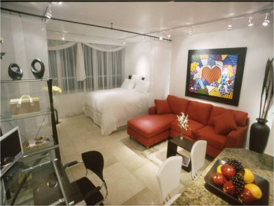 apart hotel miami beach. sobre la playa, piscina, gym._Capital-Federal